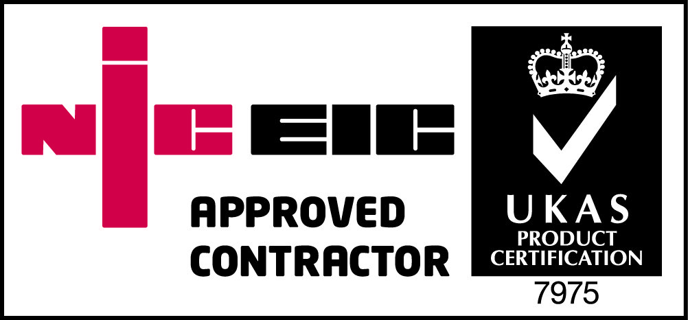 Niceic approved contractor logo eps